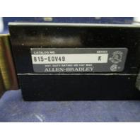 Allen Bradley 815-EOV49 Overload Relay
