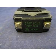 Allen Bradley 71A83 Coil new