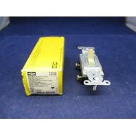 Hubbell Single Pole Switch CS120I new