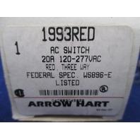 Arrow Hart 1993RED AC Switch new