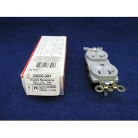 Pass & Seymour IG6300-GRY Duplex Receptacle new
