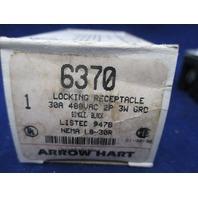 Arrow Hart 6370 Locking Receptacle new