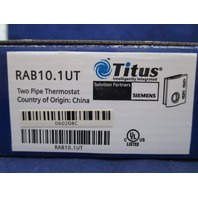 Siemens RAB10.1UT Two Pipe Thermostat new