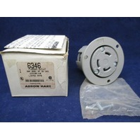 Arrow Hart 6346 Locking NEMA L6-30R new