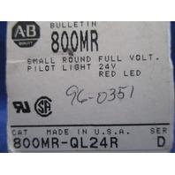 Allen-Bradley 800MR-QL24R Pilot Light new