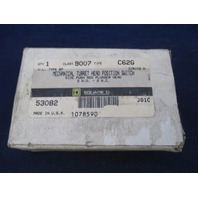 Square D Limit Switch 9007 C62G new