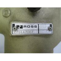 Ross Controls 2781A7007