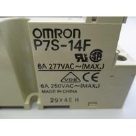 Omron  P7S-14F SOCKET, DIN, G7S
