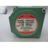 Solon Pressure Switch 2PSW1D2