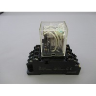 Omron MY4N Relay w/ Socket