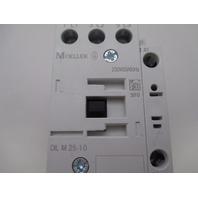 Moeller DIL M25-10 Contactor