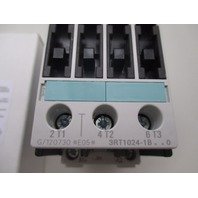 Siemens 3RT1024-1BB40 Contactor new