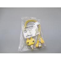 Turck VB2-FSM 4.4/2WK 4T-0.3/0.3/XOR U0096-02 Cordset Cable