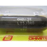 Ohmite L25J3R0 Lot of 3