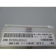 Allen-Bradley  RCR20G303JS Lot of 25