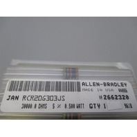 Allen-Bradley  RCR20G303JS Lot of 25