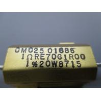 Clarostat RE70G1R00  Resistor new
