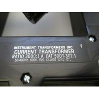 INSTRUMENT TRANSFORMER  INC.  500T-302-1