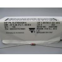 Vishay Dale RL07S562GB14 1/4watt 5.6Kohms 2% Resistor qty 100 new