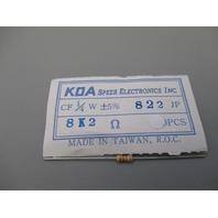 KOA Speer Electronics CF-1/4-W qty 500