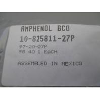 AMP Amphenol 10-825811-27P 97-20-27P