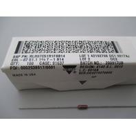 Vishay Dale RLR07C51R1FSB14  Resistor qty 100 new