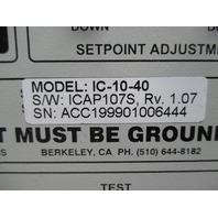 ENERGYLINE IntelliCAP IC-10-40 CAPACITOR CONTROL 110/240VAC 50/60HZ