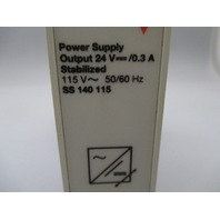 Electromatic  SS 140 115 Power Supply w/ socket