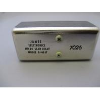 James Electronics C-4617 Micro Scan Relay