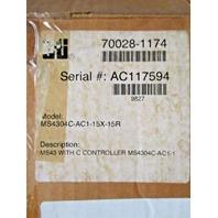 STI MS4304C-AC1 15X 15R MS43 With C Controller MS4304C-AC1