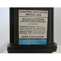 "Hayward EA2 Actuator w/ 1-1/4"" PVC Valve"