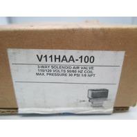 Honeywell V11HAA-100 120V 3WAY SOLENOID AIR VALVE  Three-Way Solenoid Valve