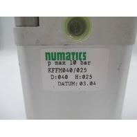 Numatics KFFM040/025 KFFM040025000