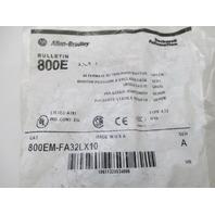 Allen Bradley 800EMFA32LX10 800EM-FA32LX10
