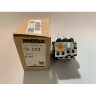 Fuji TK-E02 5-8A Overload Relay new