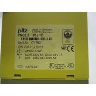 Pilz PNOZ 8 474760 Safety Relay new