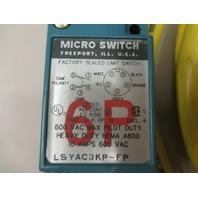 Micro Swicth LSYAC3KP-FP 6-P