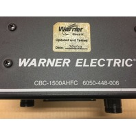 Warner Electric Clutch Brake 6050-448-006 CBC-1500-AHF