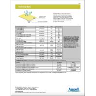 Ansell Alphatech Microchem M2300 WR23-B-30-189-07 WY23‑B‑92‑129-07 3XL Suit 10