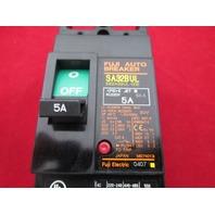 Fuji Electric SA32BUL 5 amps Circuit Breaker new