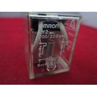 Omron Relay LY2 200/220VAC