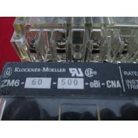 Moeller NZM 6B-63 Circuit Breaker