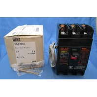 Fuji Electric Circuit  Breaker  SA33BUL  BB3ASBUL-005 5A new