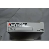 Keyence Fiber Optic Sensor FS-V1 new