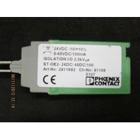 Phoenix Contact ST-OE2-24DC/48DC/100 2911692 Solid State Relay