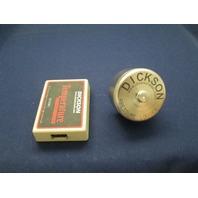 Dickson D100 PR100 Temperature Data Logger Recorder w/ Pressure Logger