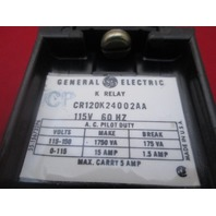 GE General Electric CR120K24002AA Power Relay new