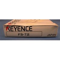 Keyence Fiber Optic Sensor Amplifier FS-T2 new