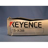 Keyence ES-X38 Proximity Sensor Amplifier new