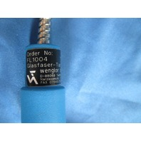 Wenglor Glass Fiber Optic Cable FL1004 used